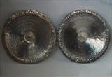 DECORATED BOWLS by Melanie Guy, Metal, Pewter