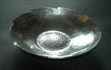 HAND RAISED BOWL by Melanie  Guy, Metal, pewter