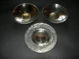 HAND RAISED BOWLS by Melanie  Guy, Metal, pewter
